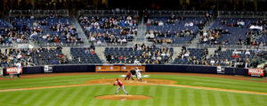Yankee Stadium empty seats 3