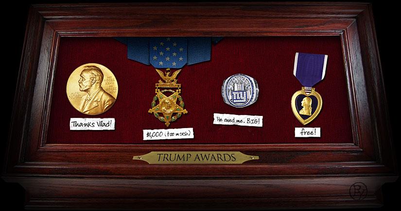 trump awards