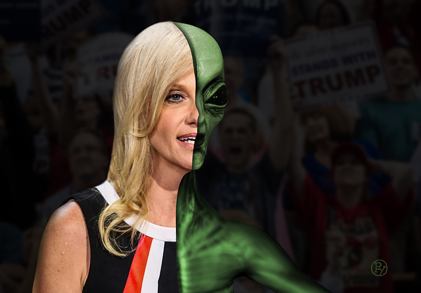 "Trump to Appoint First Extraterrestrial as New Chief of Staff; ""Very Proud"" Kellyanne Conway Will Take Over Immediately"