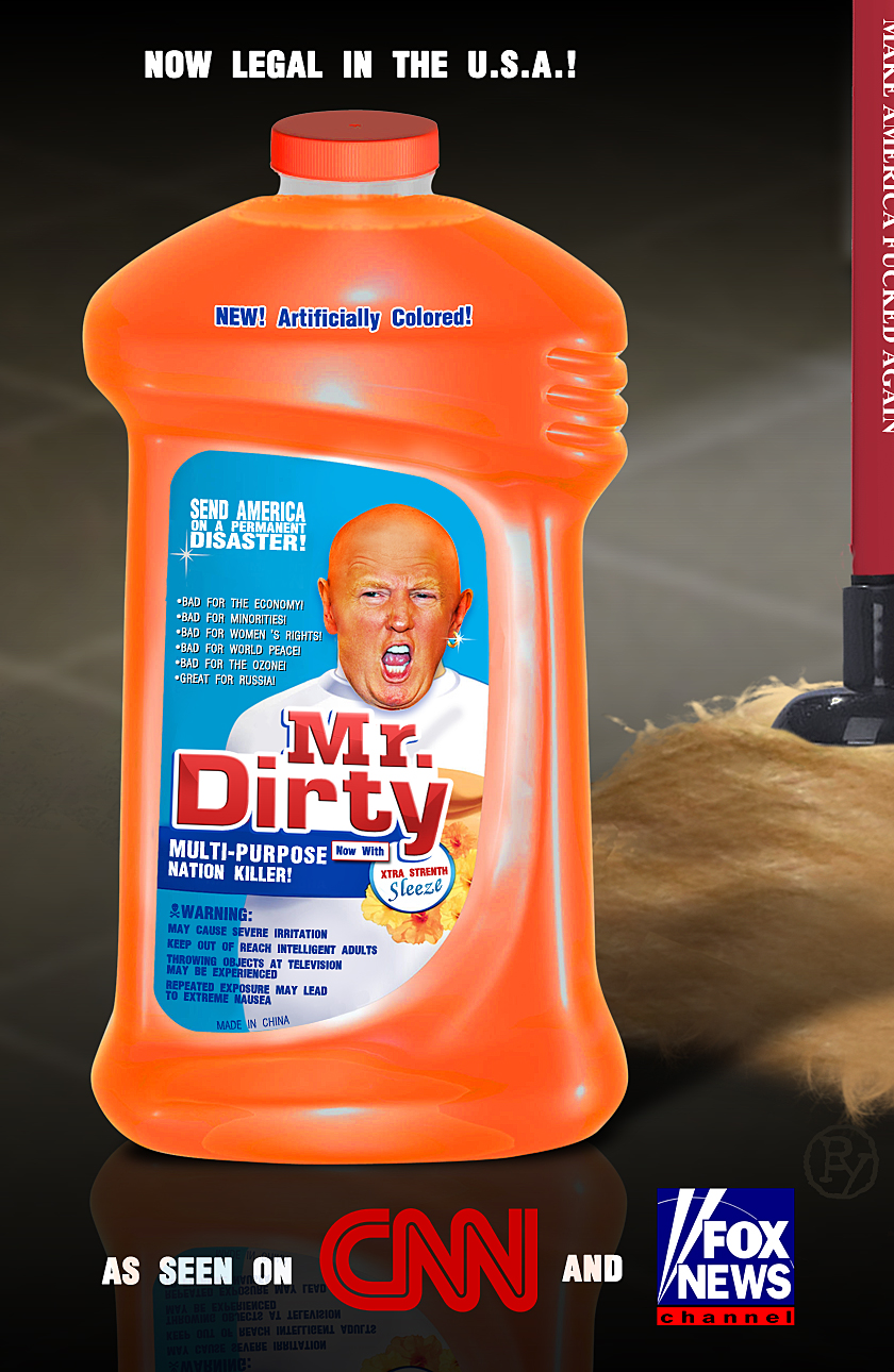 """Mr. Dirty: Trump Profiteering?"