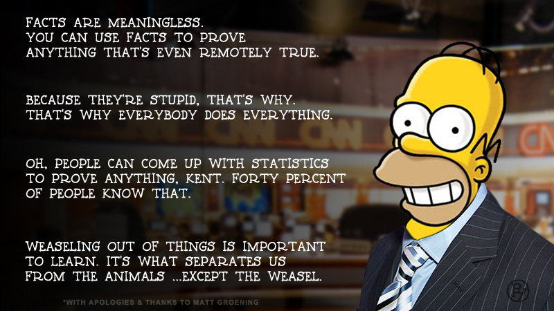 """Because They're Stupid"": Homer Simpson on Trump Voters"