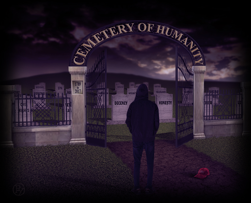 Donald Trump's America: The Cemetery of Humanity