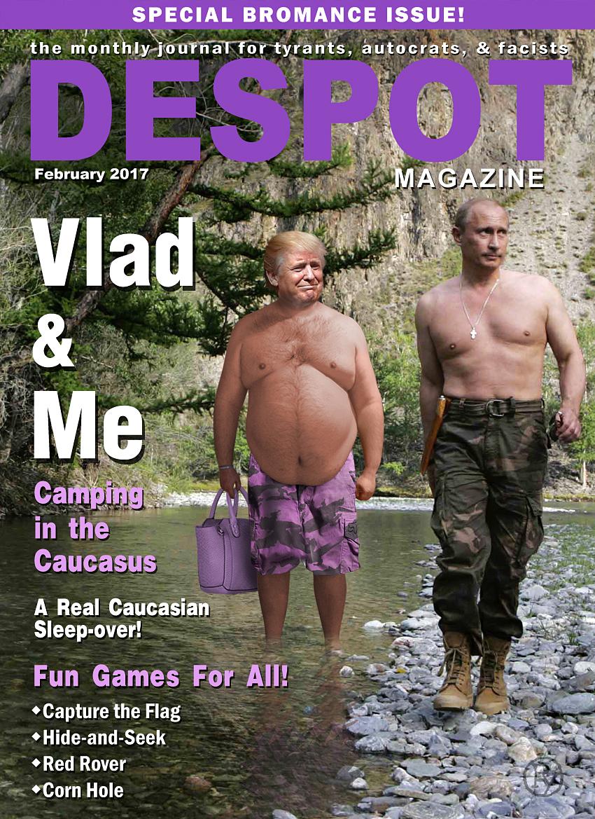 "Greatest Birthday Present Ever? Trump Nominates His ""Best Friend"" Putin as U.S. Secretary of the Exterior"