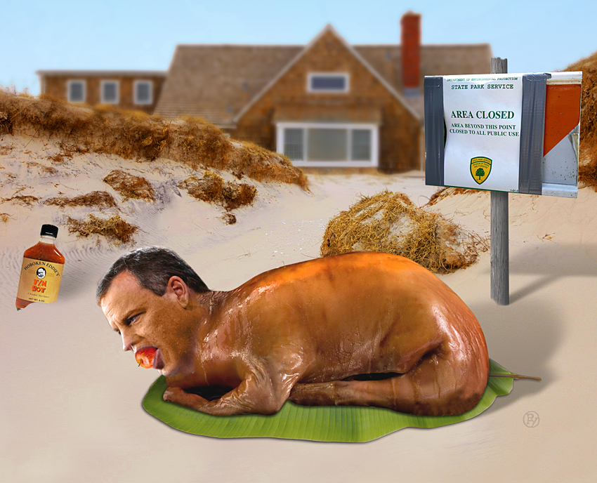 Chris Christie's Holiday Luau