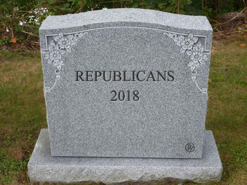 GOP: The Party's Over