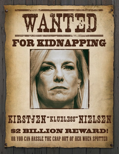 D.C. Police Distribute 'Wanted for Kidnapping' Posters for Trump Immigration Officials