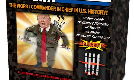 "Trump Threatens Legal Action Against ""G.I. Jerk"" Action Figure"