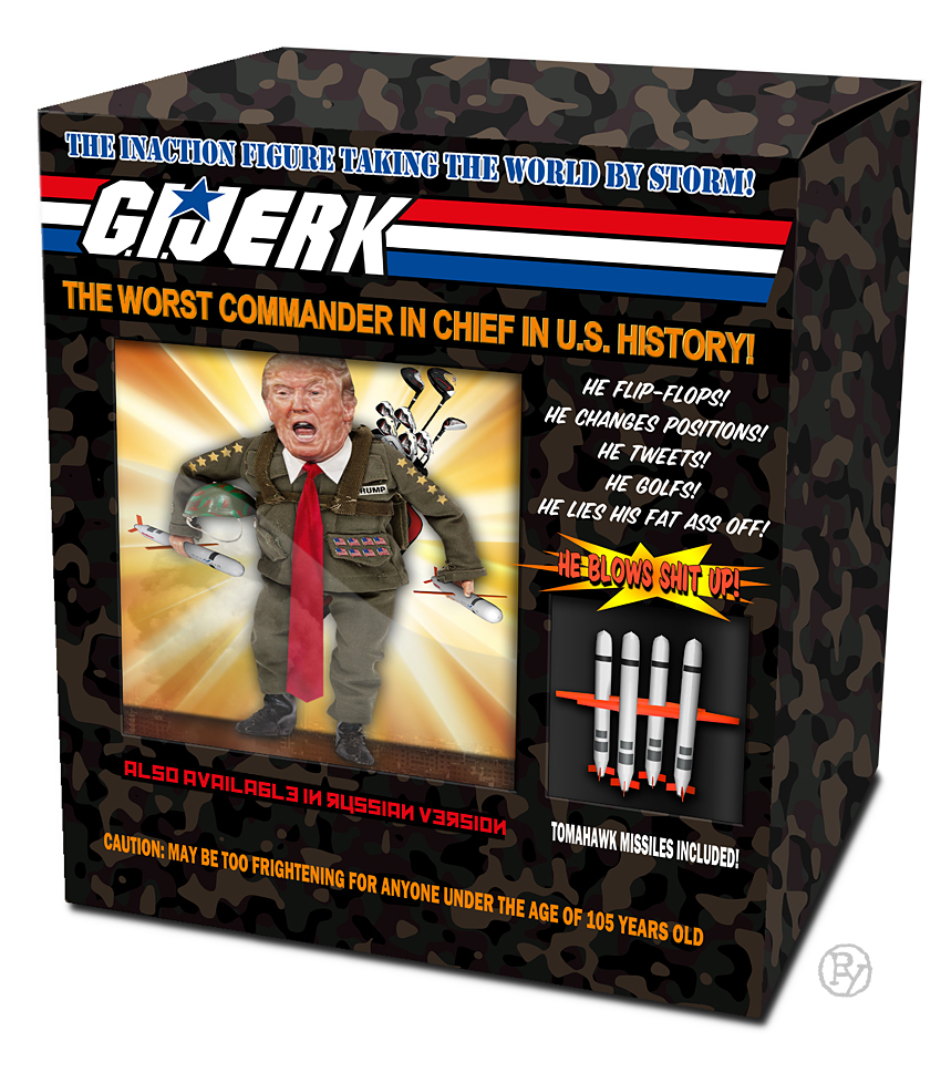 "Trump Threatens Legal Action Against ""G.I. Jerk"" Action Figure"