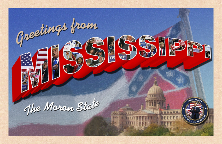 ICE Raids Prompt New Mississippi Postcard