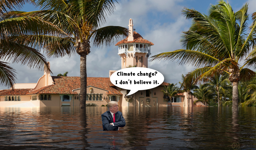 Mar-A-Lago Blues: Donald Trump, Kelly Craft and Climate Change