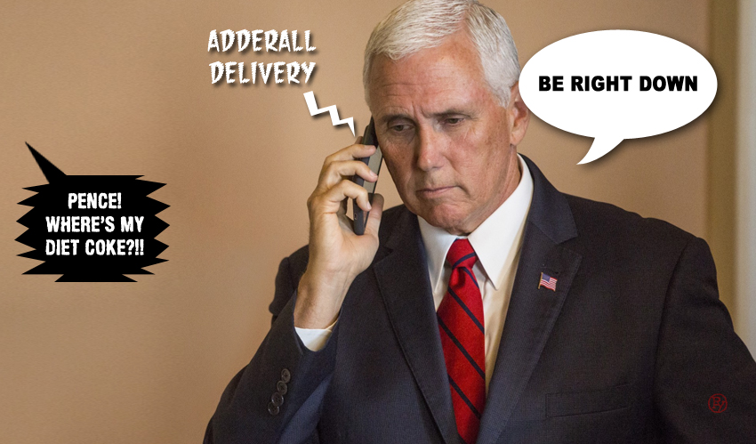 Addled Again: Another Confusing Day at the Office for Mike Pence