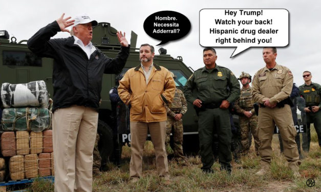 Texas Drug Dealer Targets Trump at Border