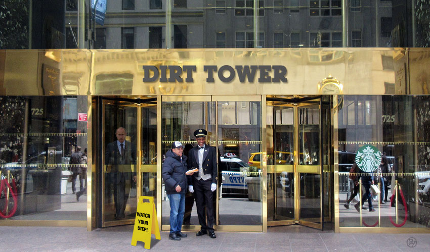Tenants Vote To Change Trump Flagship Building Name. 'Dirt Tower' Hurts.