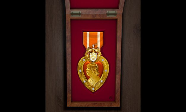 "Trump Unveils ""Orange Heart Medal,"" Nation's First New Major Military Award Since 1917 … Timing Questioned"