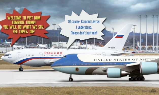 Plane Speaking? Mueller Reportedly Investigating Mysterious Trump/Lavrov Hanoi Airport Incident