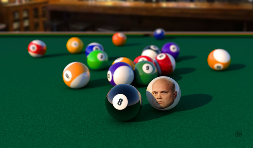 Cue Ball's Blues: Matt Whitaker Is Playing Eight Ball, And He's Behind It