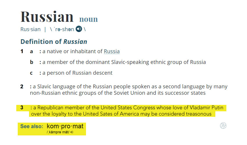 Merriam-Webster! Please Update Your 'Russian' Entry