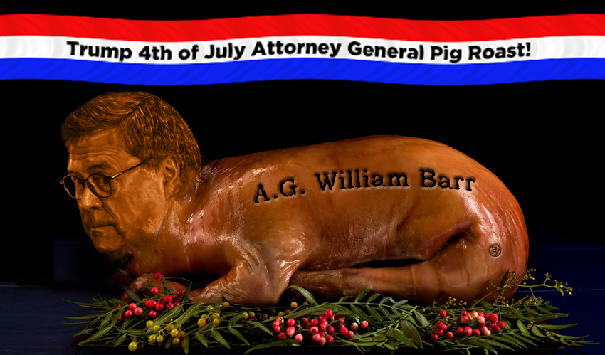 """President Denies Calling Attorney General Barr """"Just Another Piece of Meat"""""""