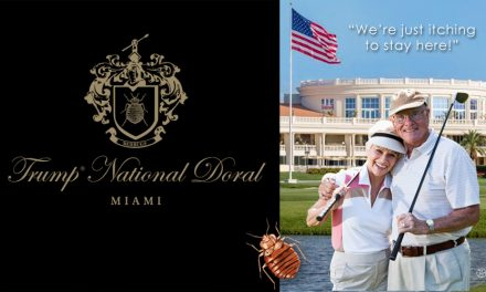 Itching To Stay At Trump National Doral
