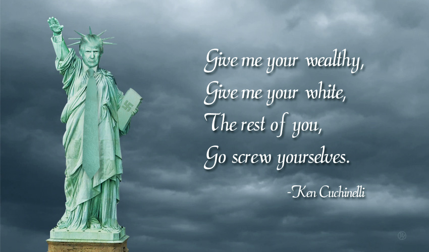 "Breaking Immigration News: Ken Cuccinelli Unveils Statue of  America's ""Greatest Ever"" Border Patrol Agent"