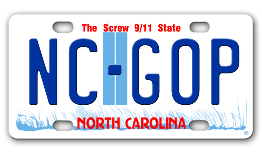 North Carolina's New License Plate Reflects GOP's Influence
