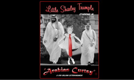 Arabian Curtsy: Donald Trump Dances for Mohammed Bin Salman