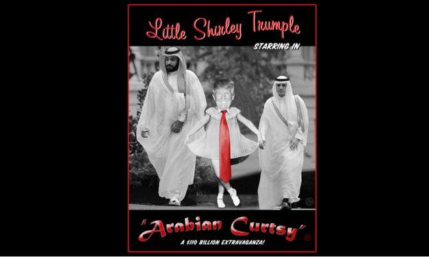 Arabian Curtsy: Donald Trump Dances for Mohammed Bin Salman