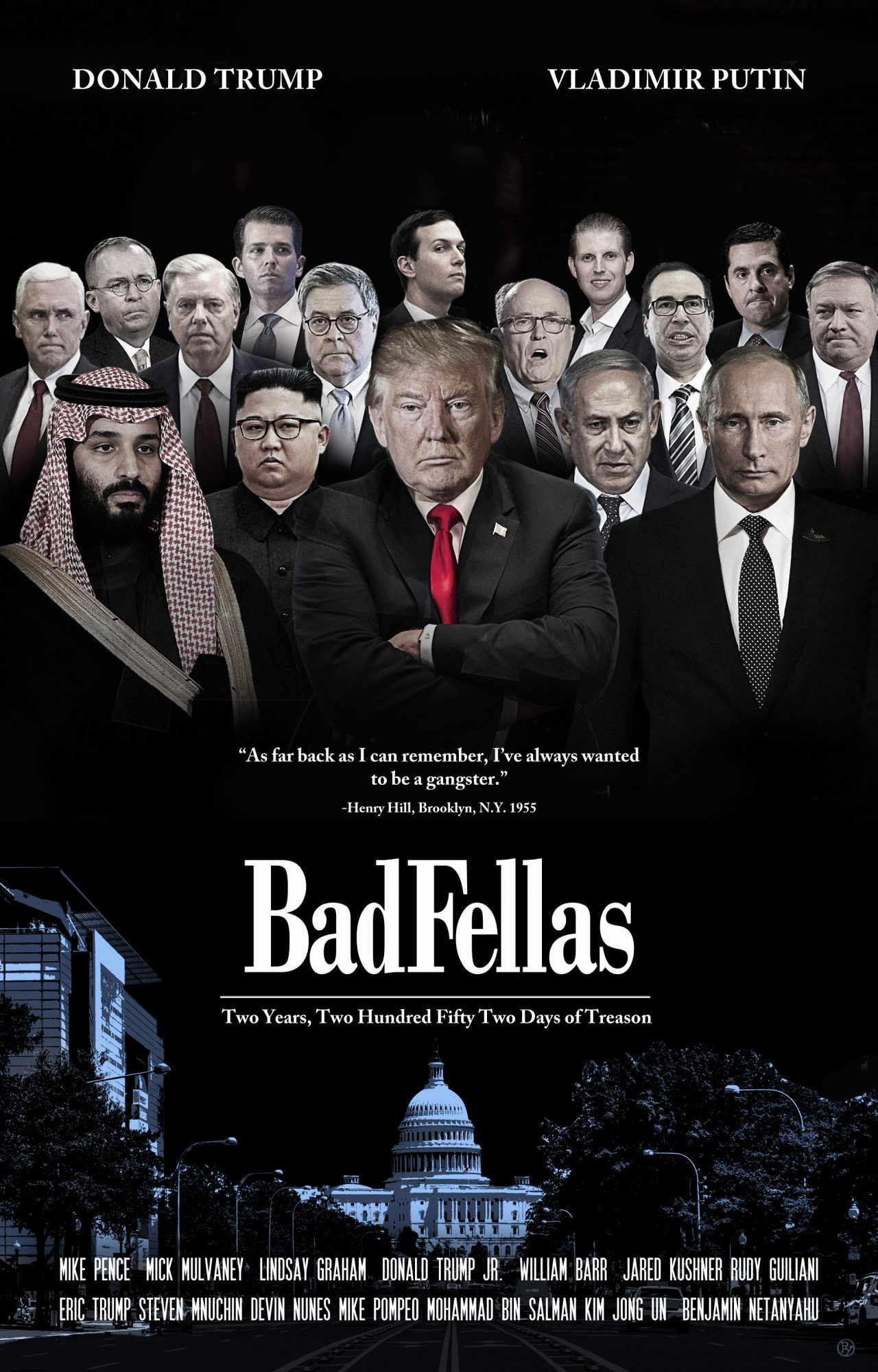 """""""BadFellas:"""" Ivanka Trump & Kellyanne Conway Breathe a Sigh of Relief. """"At  Least We're Not In the Poster."""""""
