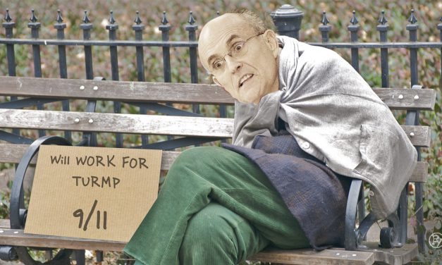 """Rudy Who?"" Fired Giuliani Will Work from Central Park Location"
