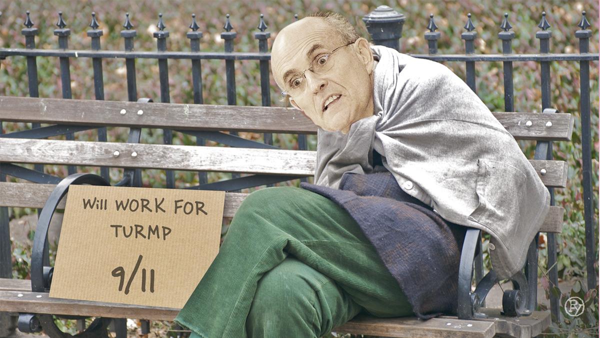 Trump Fires Giuliani; Broken Ex-Mayor Found on Central Park Bench