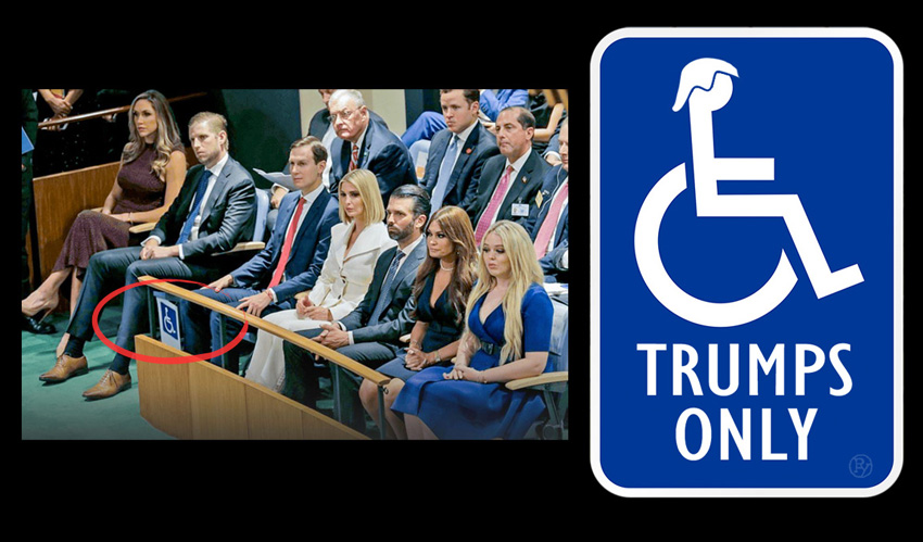 "Fox Announces ""Trailer Trash Trumps;"" Network Hopes to Capitalize on United Nations Controversy Over Trump Family Members Taking Handicapped Seating at UN Speech with Bold, New Reality Show"