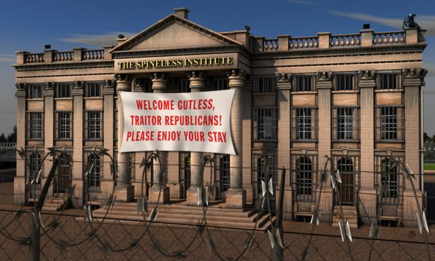 The Spineless Institute Set For Flood of Republican Patients