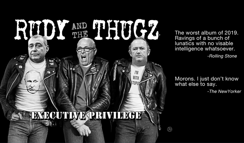 """Rudy and The Thugz' """"Executive Privilege"""" Named Worst Debut Album in Rock Music History"""