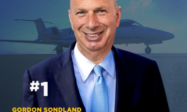 Gordon Sondland Tops Fortune Magazine List