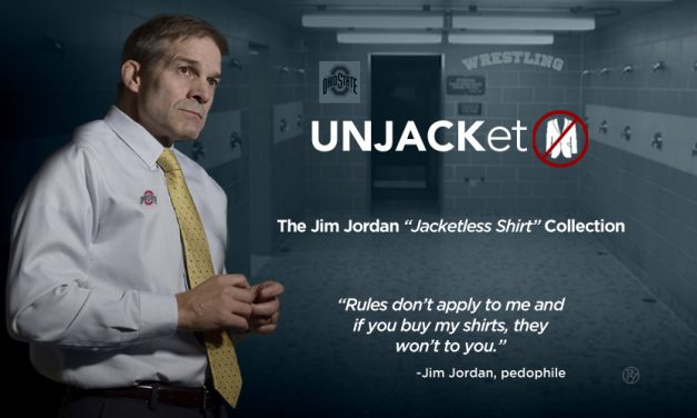 "UNJACKet: Introducing the Jim Jordan ""Jacket-less Shirt Collection"""