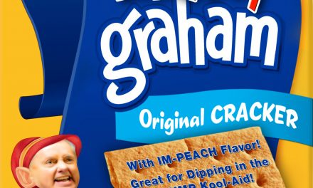 New From Kremlin! The Lindsey Graham Cracker: Perfect for Dipping into the Trump Kool-Aid