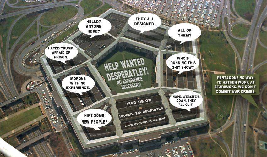 The Pentagon's Desperate Hiring Binge Off to a Bad Start