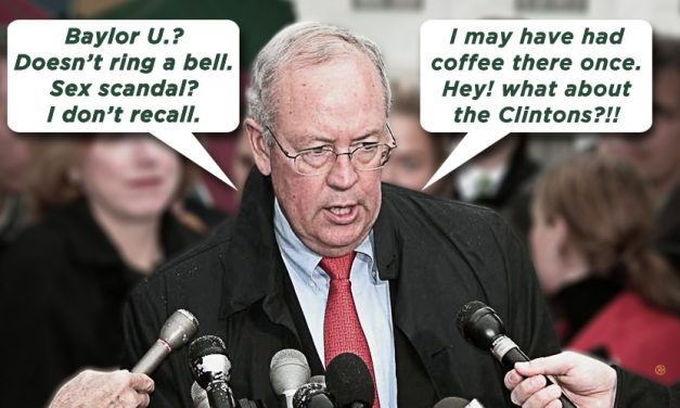 Ken Starr: A Sanctimonious Toad's Worst Press Conference Ever