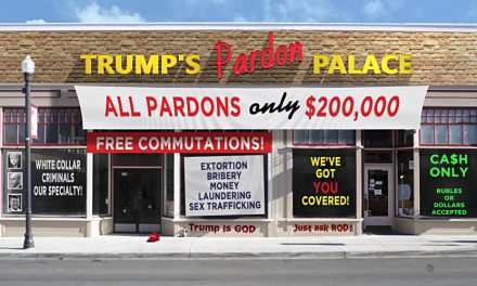 Trump's Pardon Palace Open For Business In Washington
