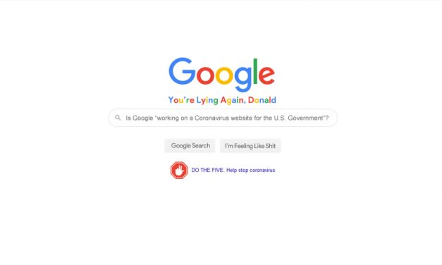 Google Search Mocks Current President