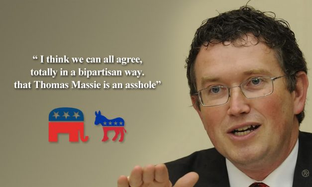Massie's Unexpected Resignation Proves Good Can Come From Idiocy: Bipartisanship Baby!