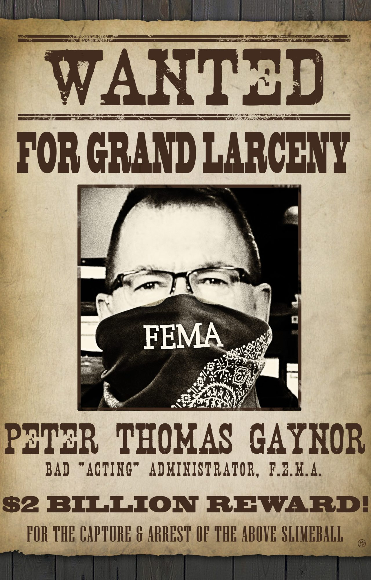 Peter Thomas Gaynor: a Disaster