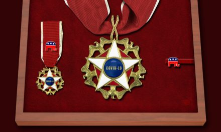 Trump Announces All Republicans Will Receive the Medal of Incompetence