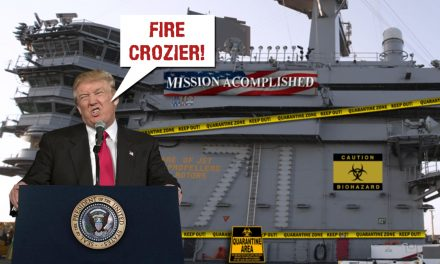 You Can't Fix Stupid: Trump Fires Navy Captain for Telling the Truth